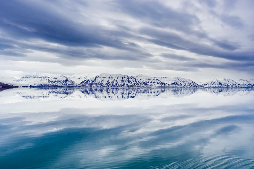 Spitsbergen - Spiegellandschap