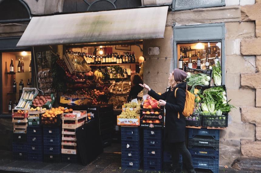 Groentenstalletje in Florence