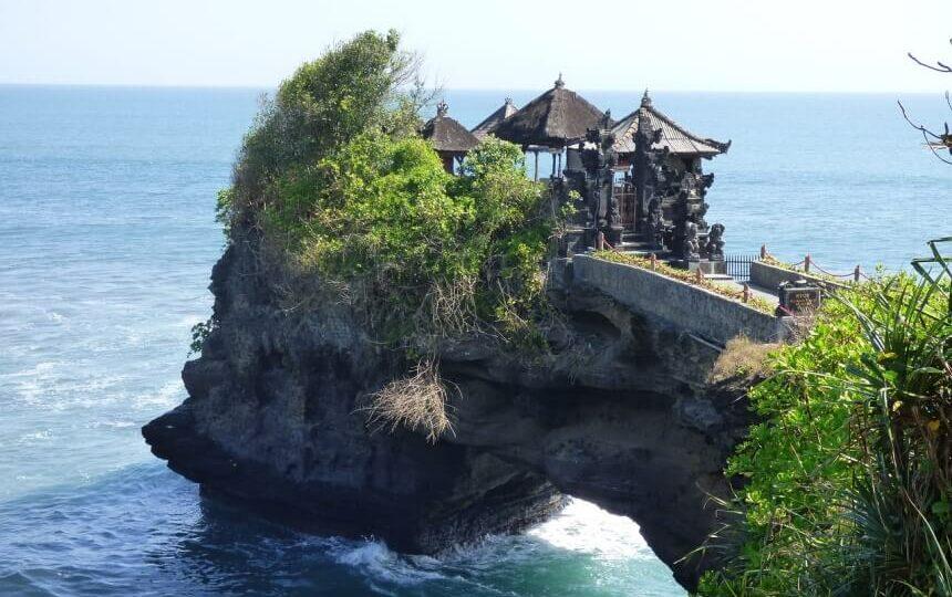 Tanah Lot op Bali