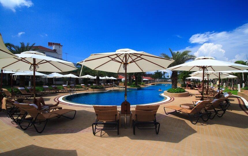Thai Garden Resort in Pattaya in Thailand