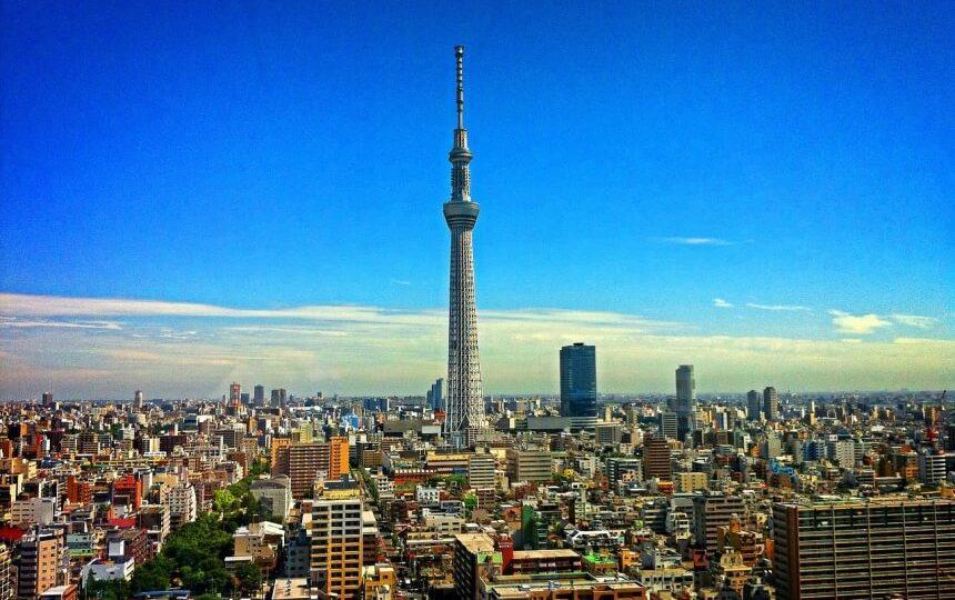 Tokio tower in Japan