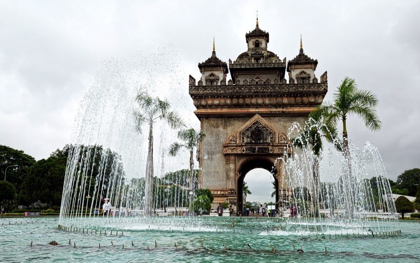 Vientiane in Laos