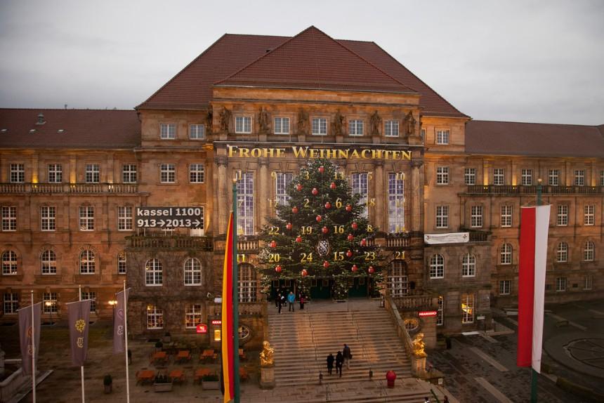 Vrolijk kerstfeest Kassel