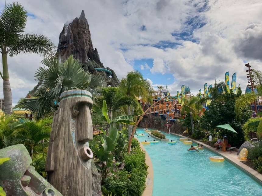 Waterpark Universal Vulcano Bay in Orlando
