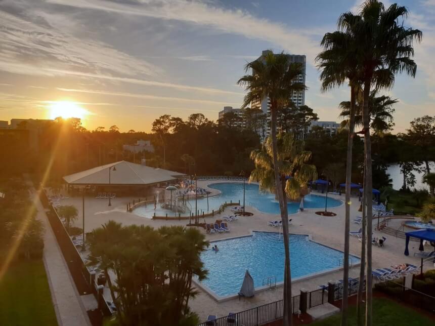 Zwembad van Wyndham Lake Buena Vista in Orlando