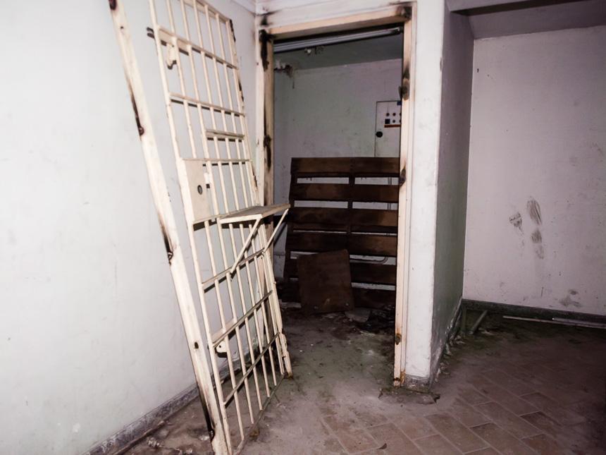 De gevangenis in het huis van Pablo Escobar