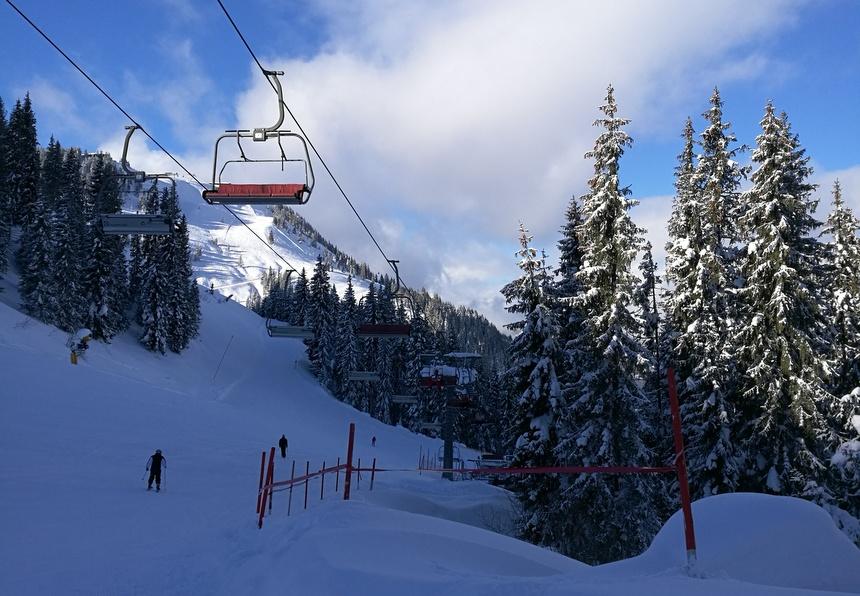 Skigebied van Skiwelt