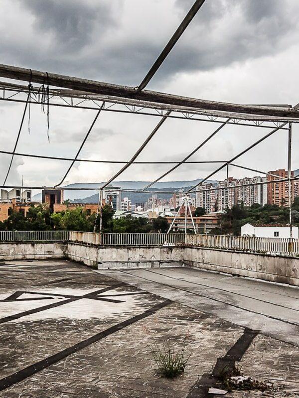 Medellin in Colombia - het Monaco gebouw