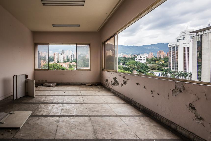 Ooit was er uitzicht over de jungle in het huis van Pablo Escobar
