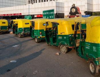 Een warm welkom in Delhi