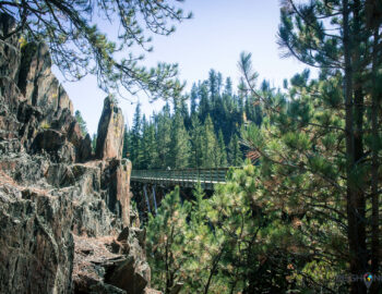 Dwars door de Black Hills over de Mickelson Trail