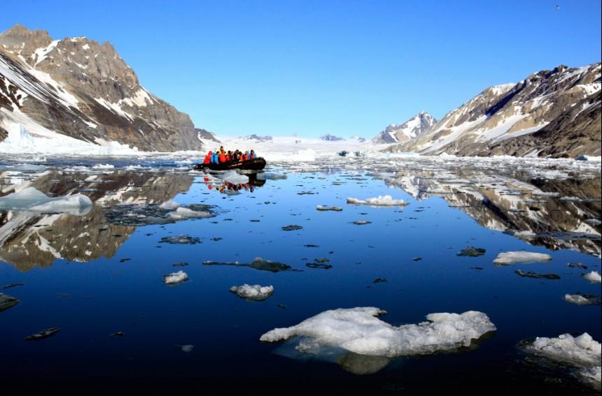 Expeditiereis Spitsbergen