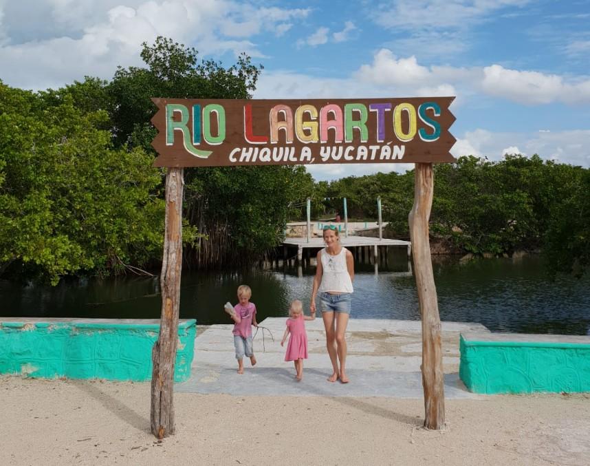 Rio Lagartos Chiquila Yucatan