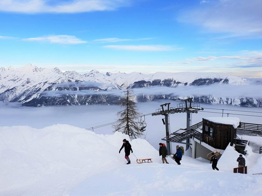 Rodelen Tirol