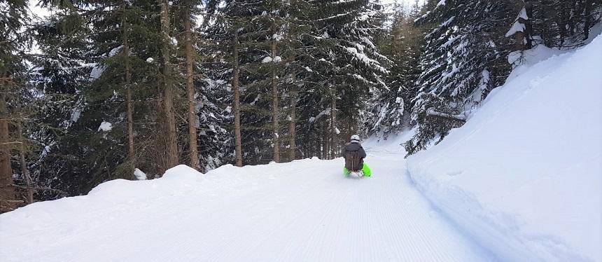 Rodelen in Tirol