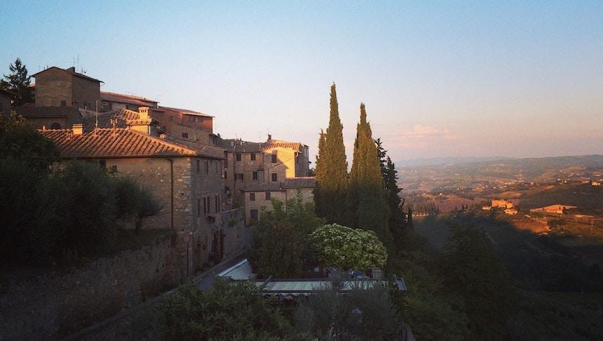 San Gimignano in Italie