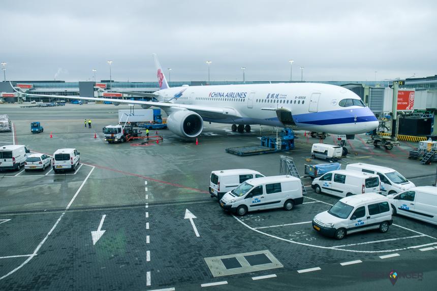 Meerdere keren per week voert China Airlines vluchten vanaf Schiphol uit