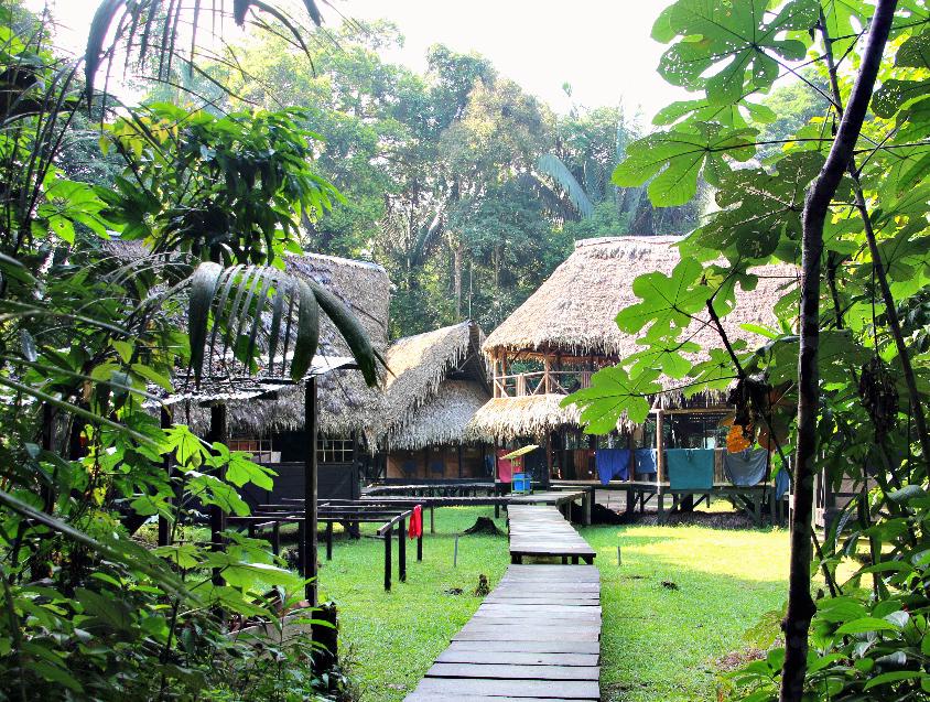 Ecuador lodge in het regenwoud