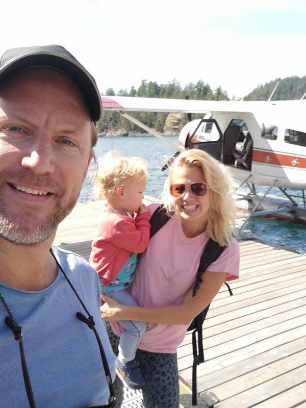 Havilland Beaver postwatervliegtuigje op Vancouver Island