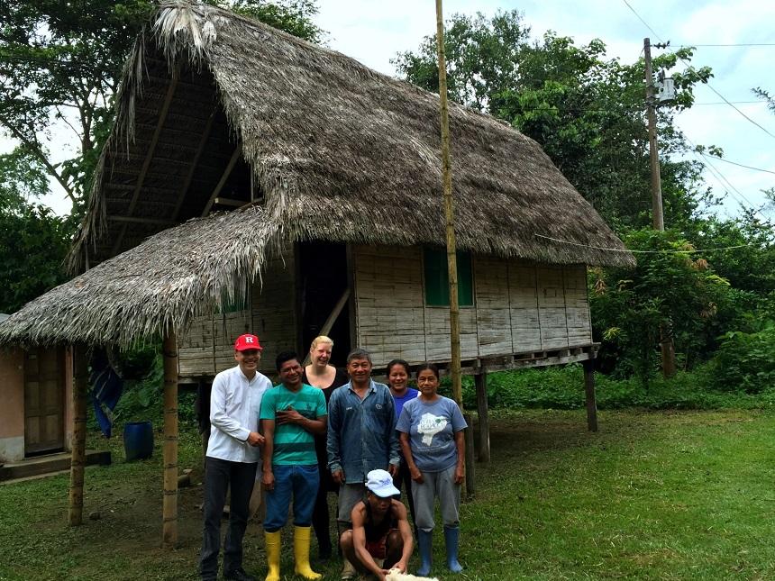 Homestay junglelodge Ecuador