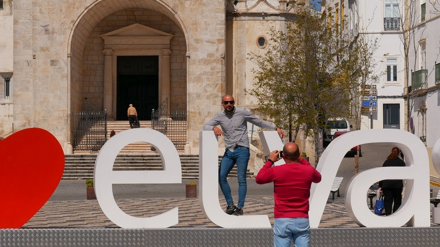 In Elvas moet het toerisme nog op gang komen. Maar ik vind het prima zo.