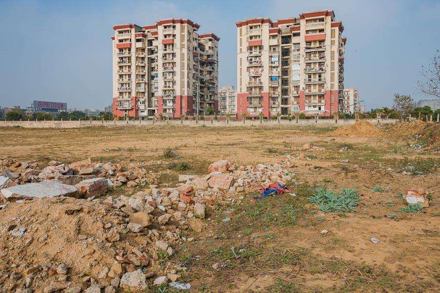 Dwarka sector 21 - stad in aanbouw