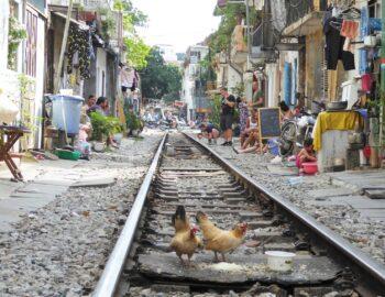 Op zoek naar Hanoi's Train Street