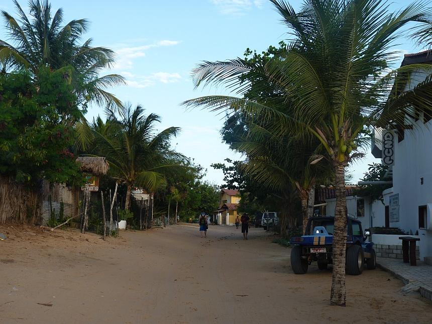 Zandweg in Jericoacoara