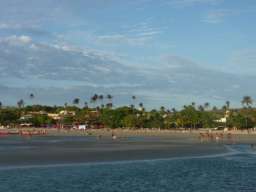 Het strand van Jeri
