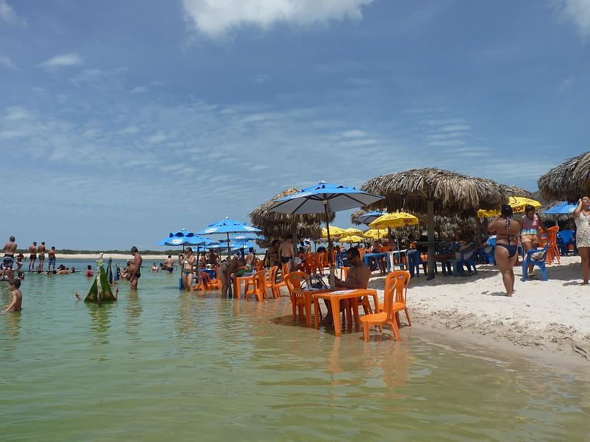 Lagoa Azul in Jijoca
