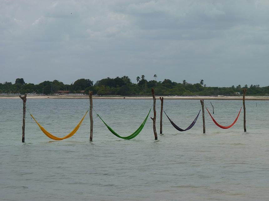 Hangmatten in Lagoa do Paraíso in Jijoca