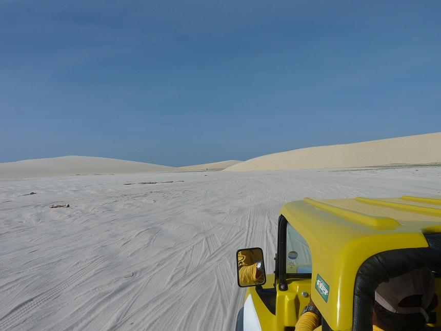 Buggy in de duinen van Jericoacoara