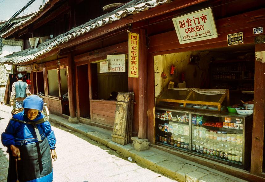 Kleine winkeltjes in Lijiang
