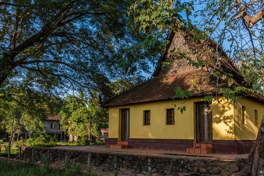 In Kratie verscholen tussen de bomen: Wat Roka Kandal