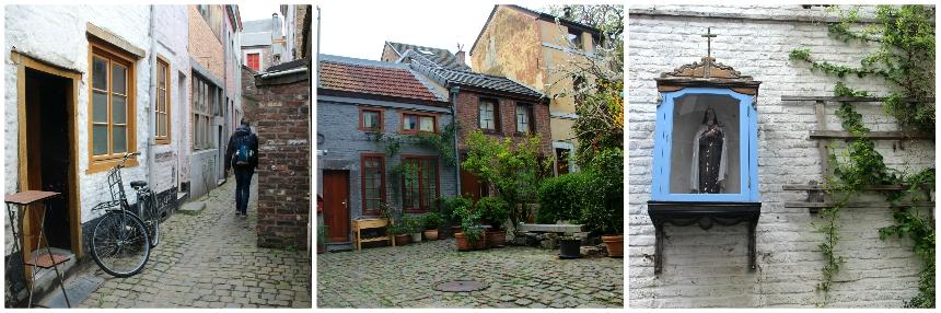 Doen tijdens je stedentrip Luik: wandel door de impasses