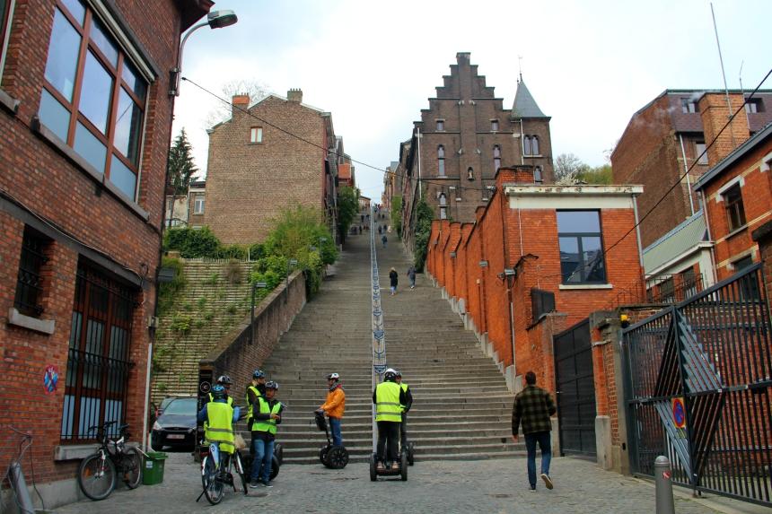 De Montagne de Bueren: de bekendste plek van Luik