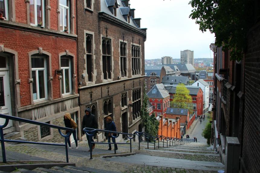 Montagne de Bueren, de bekendste trappen van Luik