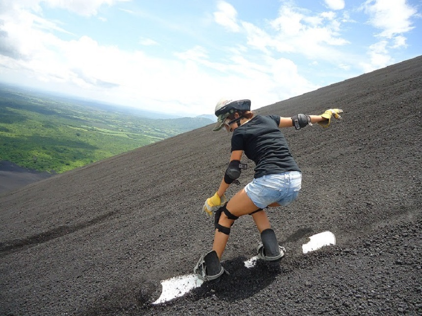Vulkaanboarding Nicaragua