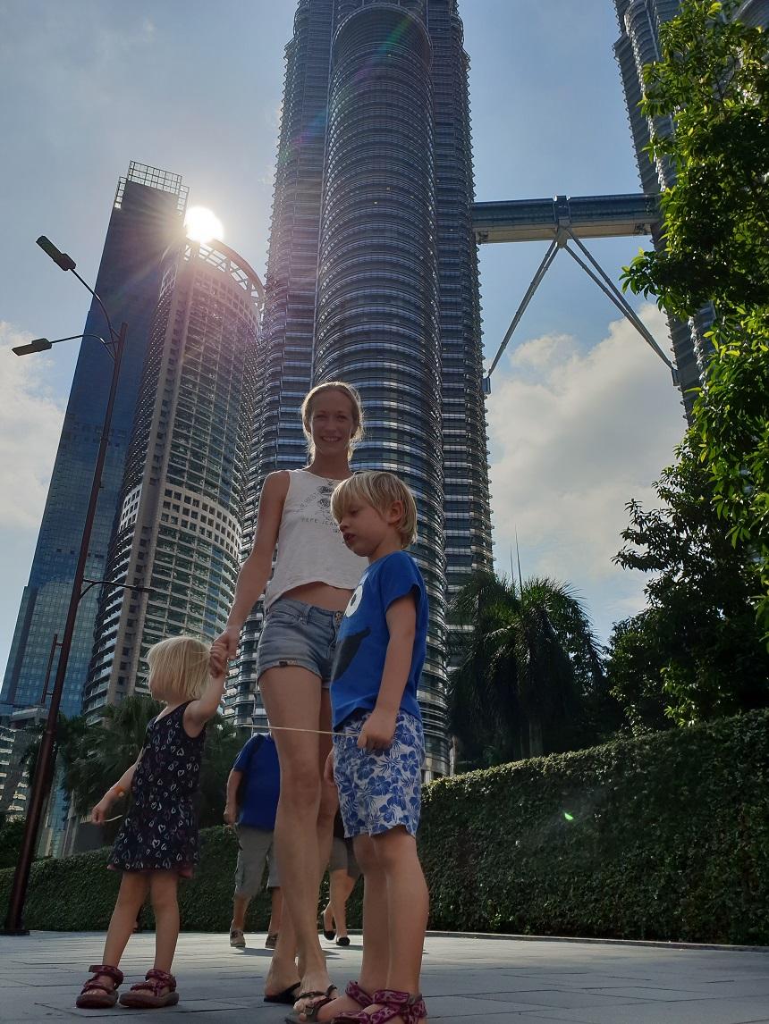 costa cruise petronas towers