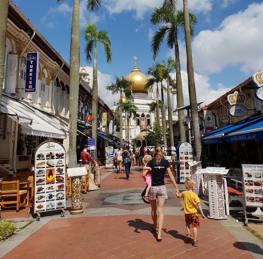 Arab Street Singapore Sultanmoskee