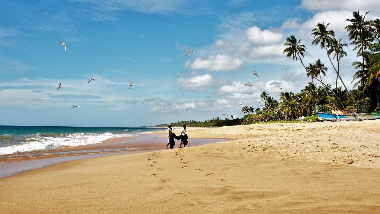 zonbestemming Sri Lanka