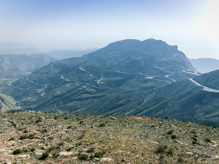 Jebel Jais flight: zipline Ras Al Khaimah