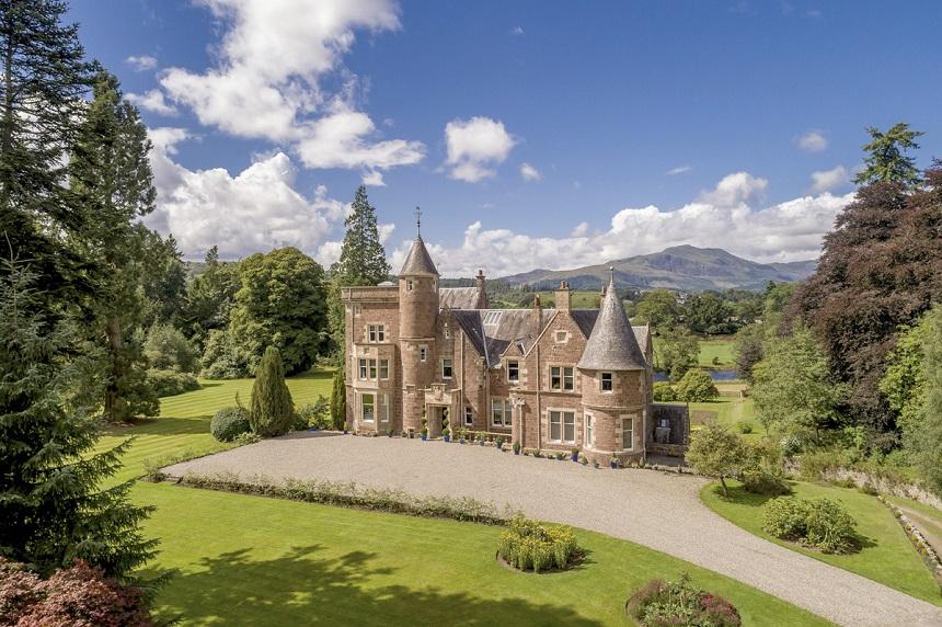 Popart paleis Schotland foto 1