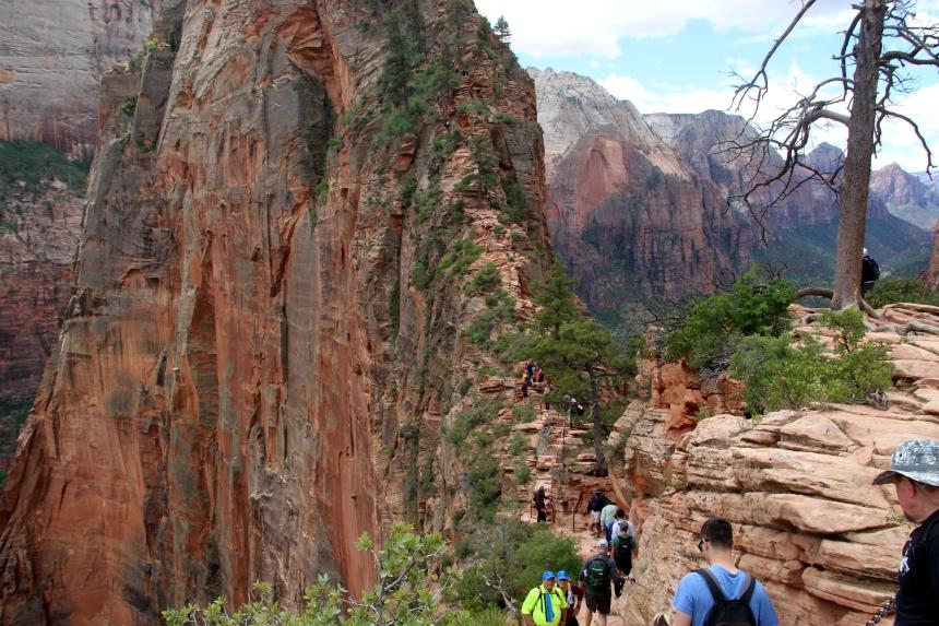 De Angels Landing Trail is de mooiste hike van de Verenigde Staten