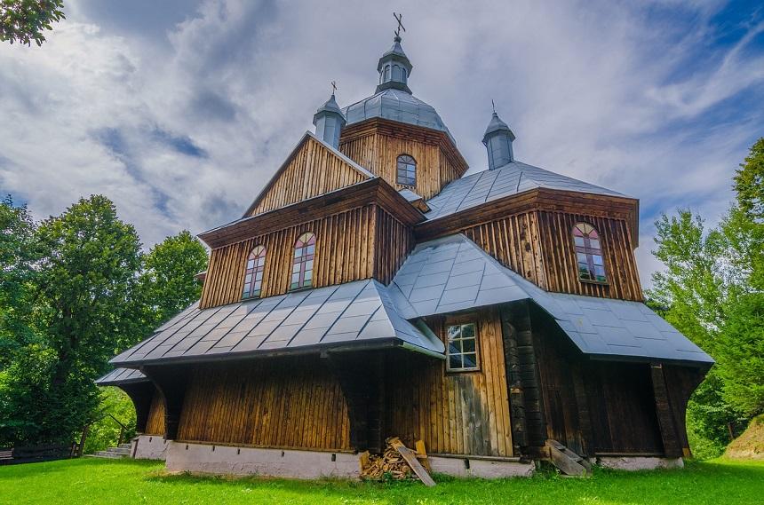 Bieszczady houten kerk