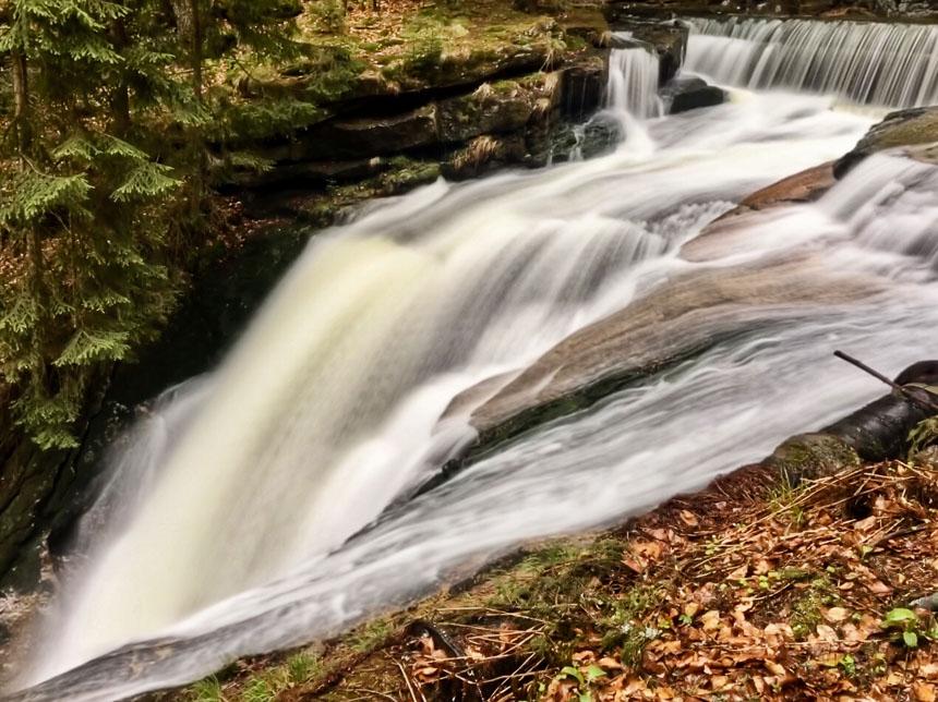 De bovenste Szklarki waterval