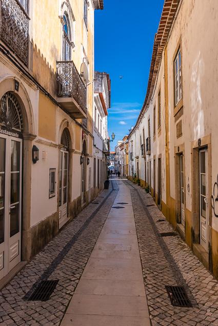 De smalle straatjes van Tomar