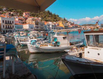 Mani regio in Griekenland op haar mooist