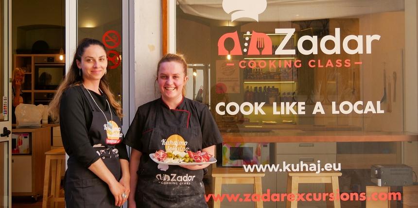 Coocking class in Zadar: zelf kokkerellen met lokale ingrediënten.