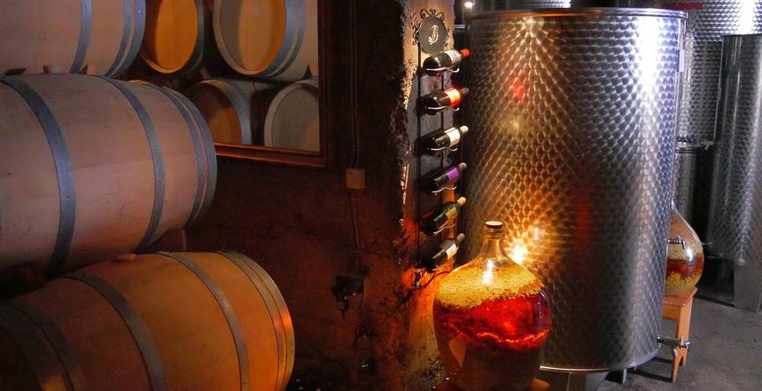 Dubokovic doet graag experimenten. Hij werkt holistisch: zelfs muziek is belangrijk voor de wijn.